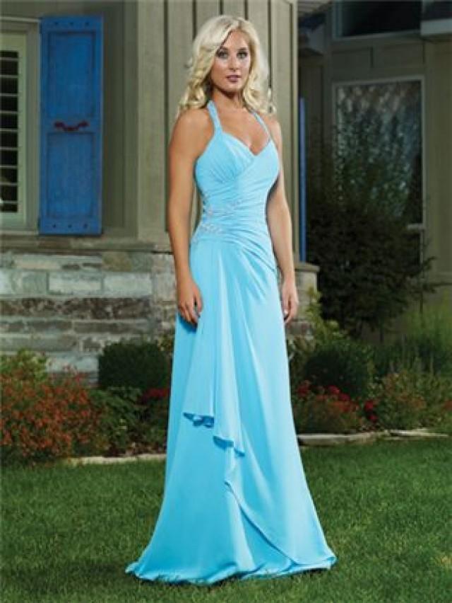 Tiffany Blue Wedding - Blue Bridesmaid Dresses #2061243 - Weddbook