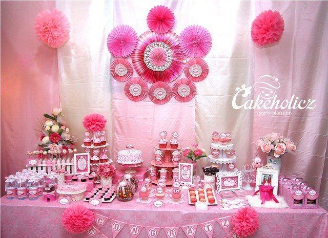 Bridal Shower Rosa Geburtstags Party Ideen 2061565