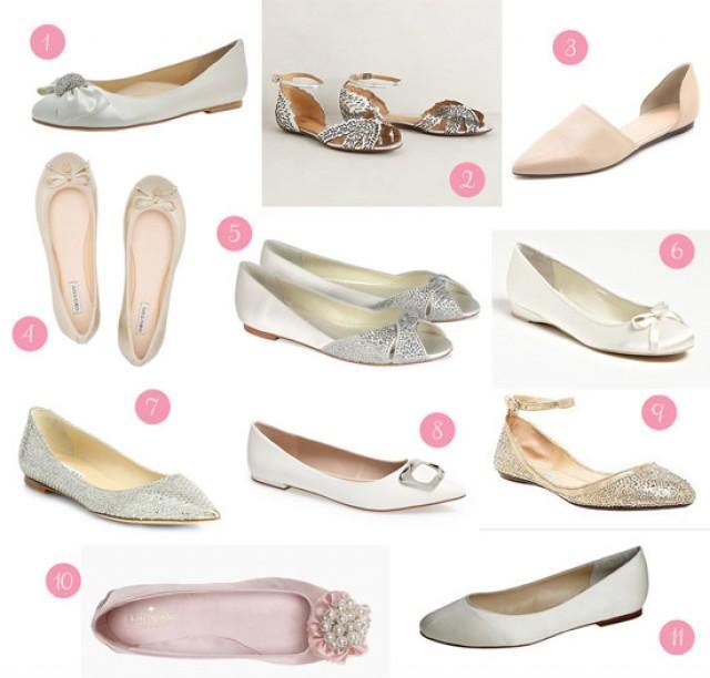 Flat Wedding Shoes - Polka Dot Bride - Weddbook