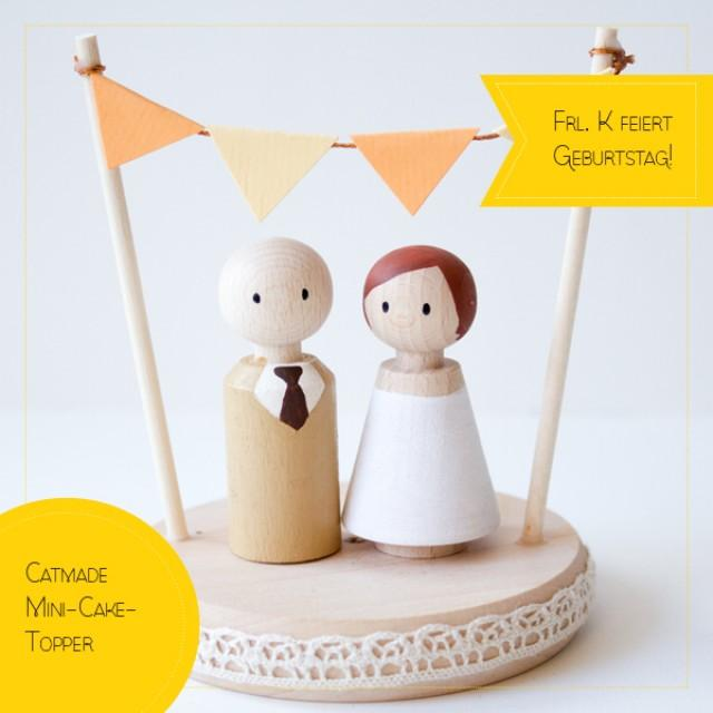 frl k feiert geburtstag catmade cake topper weddbook