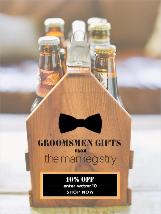 Groomsmen Gift Ideas - Weddbook