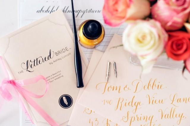 Diy Calligraphy For Your Wedding Bridal Musings Wedding