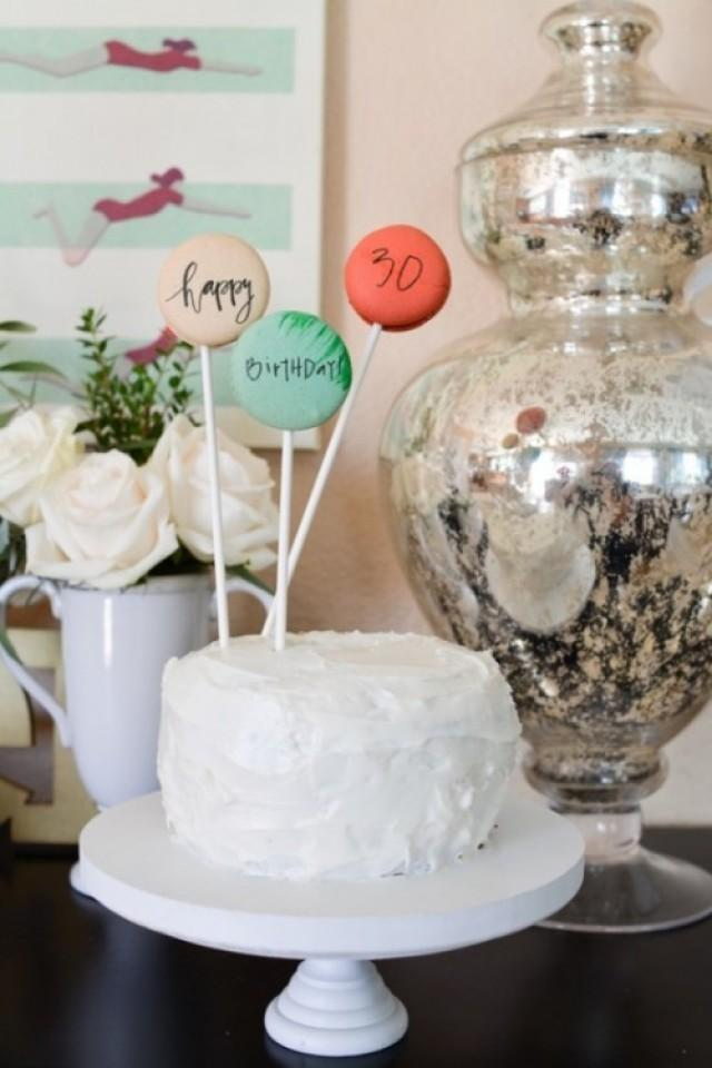 c20b05c00a2 Little Foodie Masterpieces For Your Wedding Table By Peter Callahan Amazing  DIY Macarons Cake Topper With Edible Ink