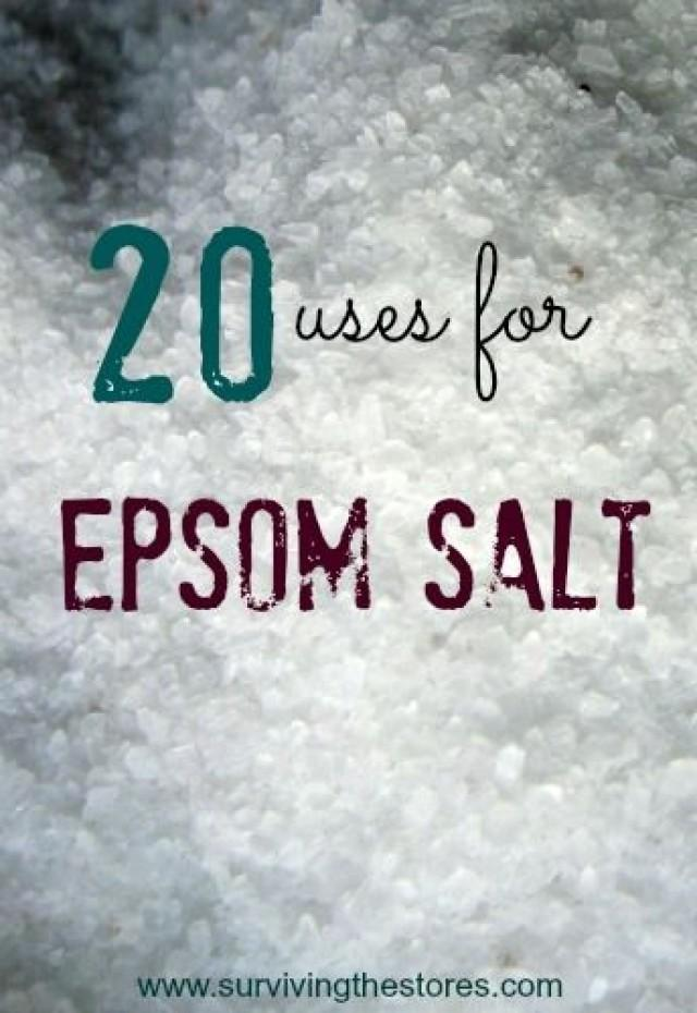 20 ways to use epsom salt who knew 2066138 weddbook. Black Bedroom Furniture Sets. Home Design Ideas