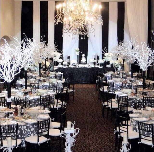 White And Black Wedding Ideas: Black And White #2066196