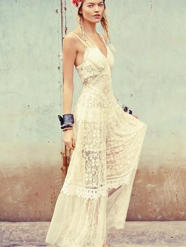 Платье в стиле бохо . . Метки: стиль мода фасоны бохо style fashion boho выкройки Метки: style boho fashion бохо