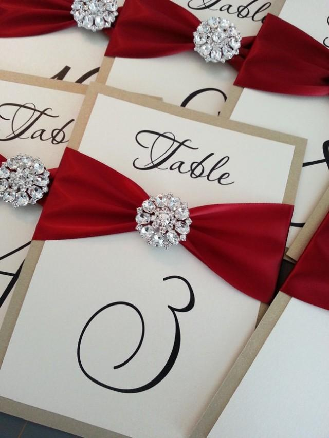 Wedding Table Number Cards #2066583