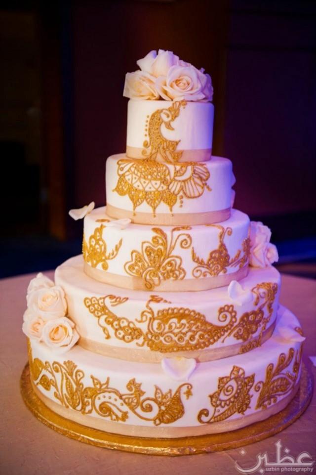 Mariage Indien - Gâteau Dor. #2066908 - Weddbook
