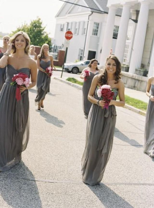 Wedding theme dark gray bridesmaid dresses 2067339 for Gray dresses for a wedding