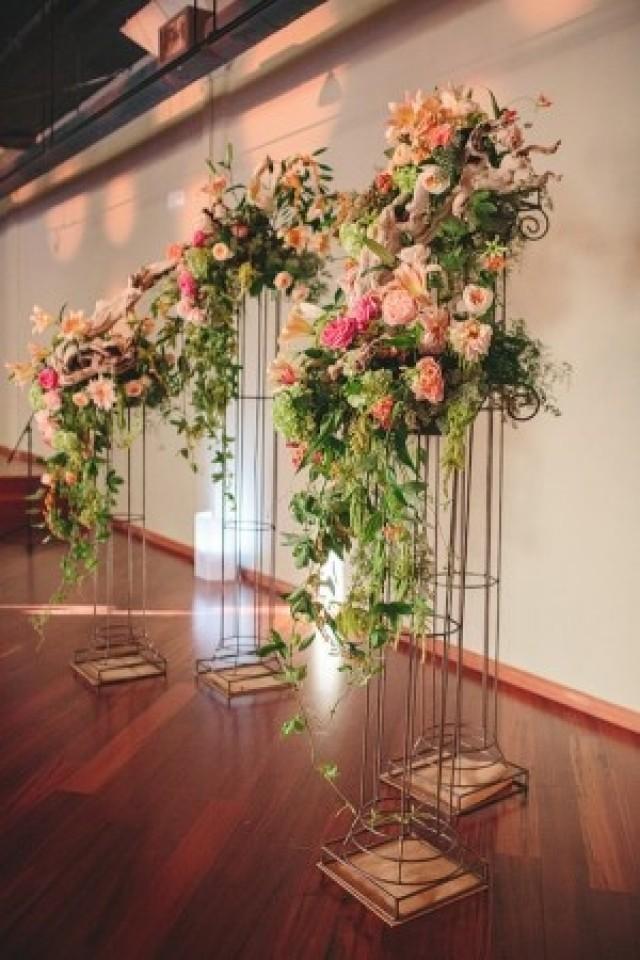 wedding photo - Pretty Ceremony Backdrop