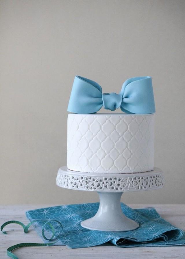 blaue cake pops