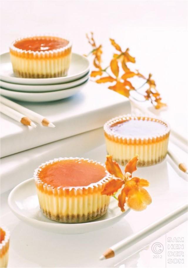 Orange Wedding - Cheesecake Cupcakes #2069284 - Weddbook