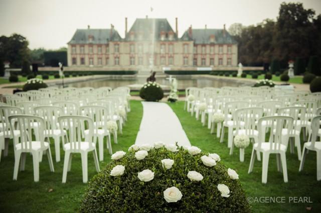 mon mariage tout en blanc weddbook - Chateau De Breteuil Mariage