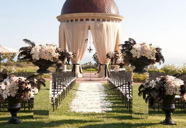 wedding photo - A Rock 'n Roll Wedding (With A Black Wedding Dress!)