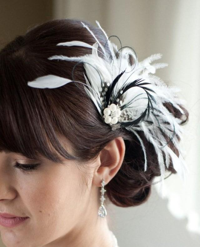 White Feather Fascinator - Video Search Engine At Search.com