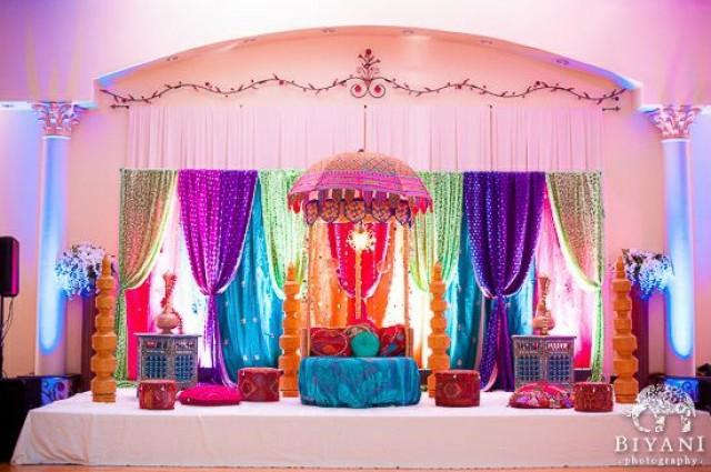 Bengali Wedding Mandap Decoration