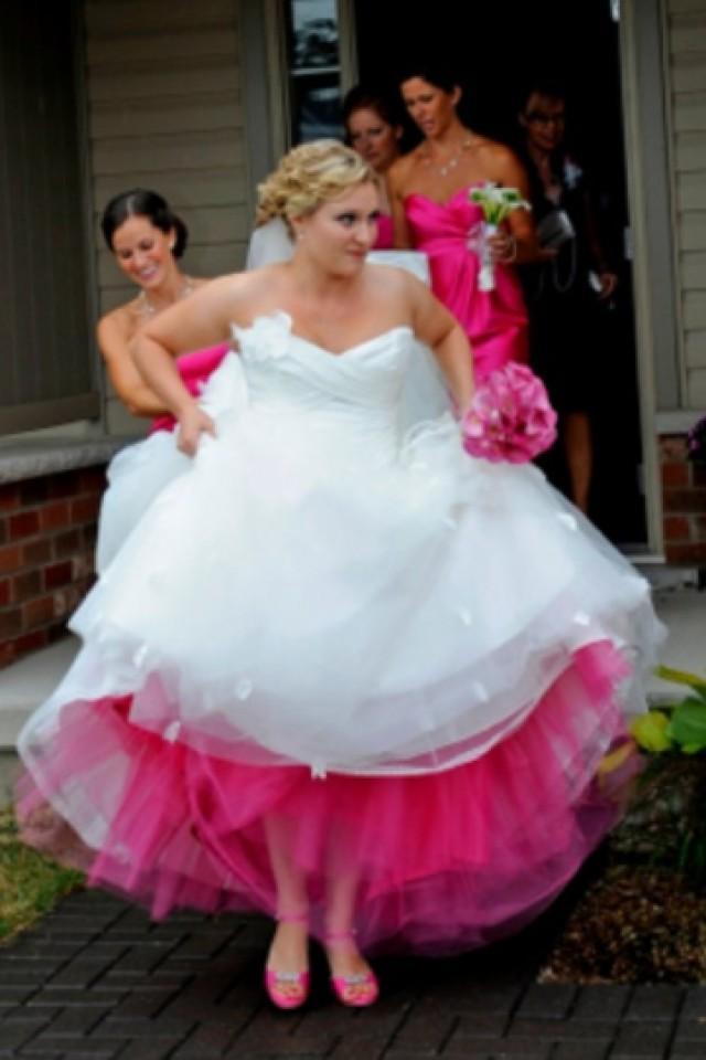 Hot Pink Wedding Photos : Pink wedding hot weddbook