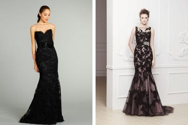 Black And Gray Wedding Dresses Weddbook