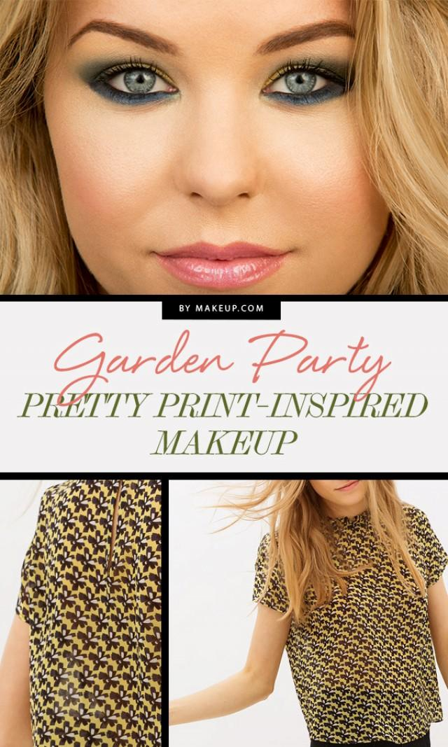 Garden Party Pretty Print-Inspired Makeup - Weddbook
