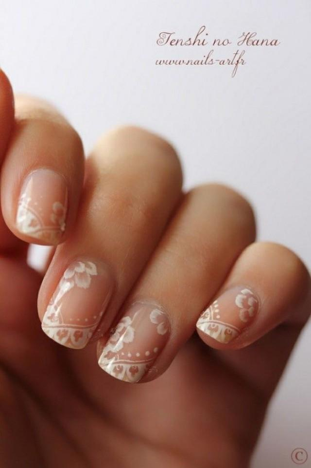 wedding photo - Bridal Wedding Nail Art