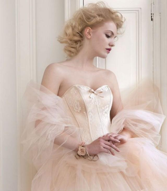 wedding photo - Pink Wedding Dresses