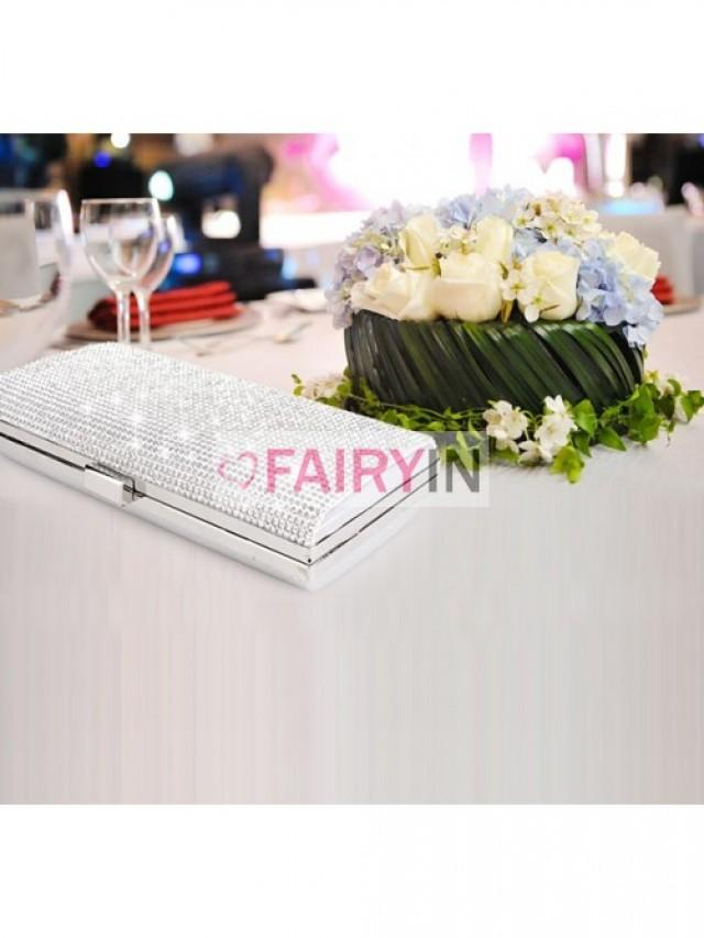 wedding photo - Fairyin Rhinestones Evening Handbags