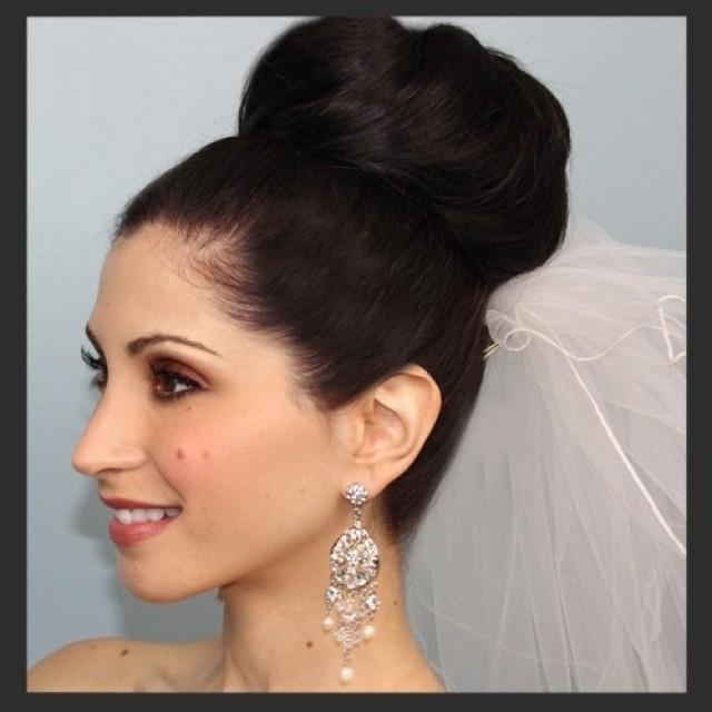 Bun Hair Model - A Bride\'s Bridal Hair #2076305 - Weddbook