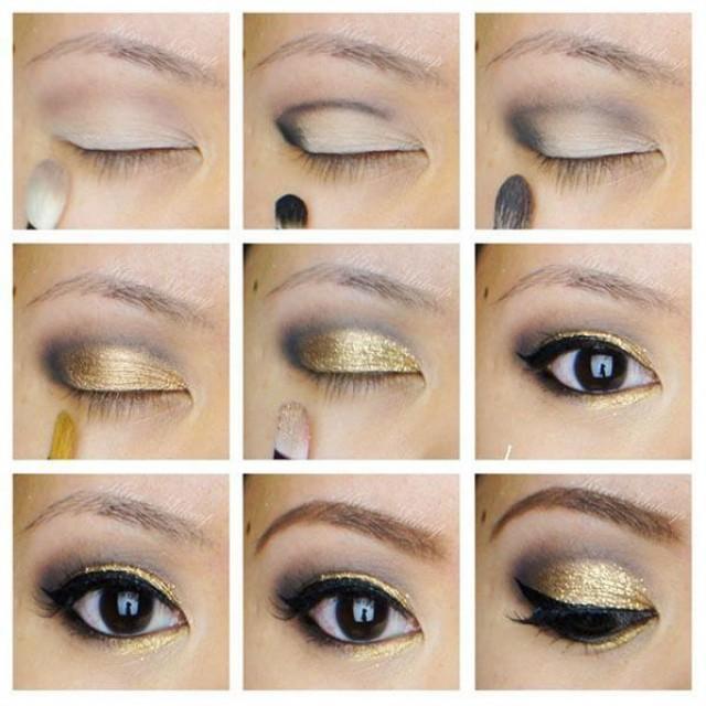 Light eye makeup tutorial