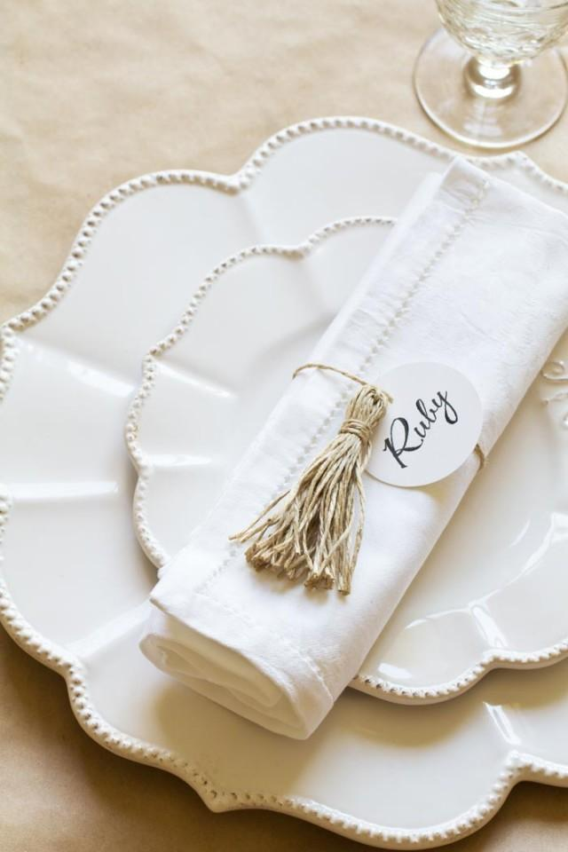 Diy wedding place settings weddbook for Make your own wedding place cards