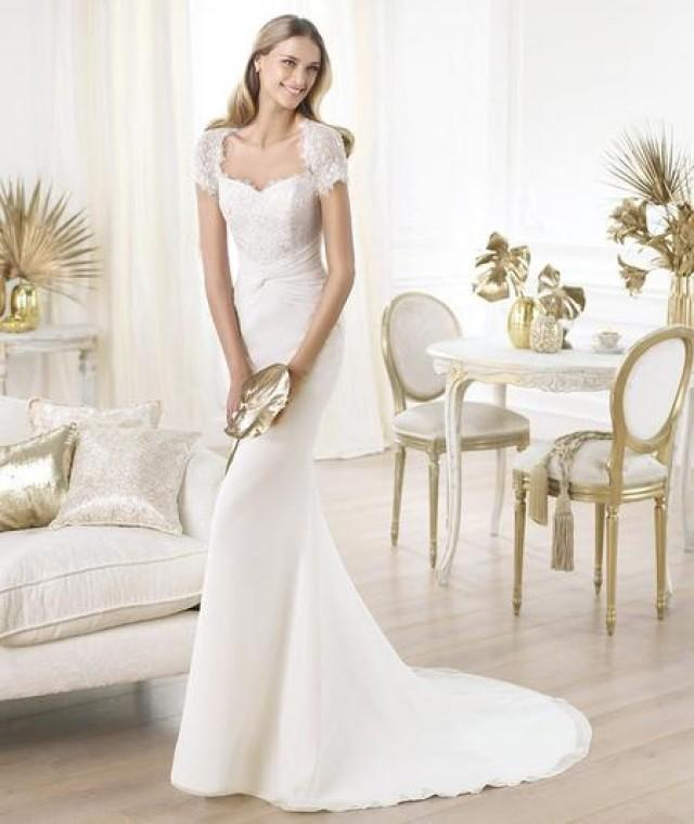 wedding photo - Seductive Deep V-neck Wedding Dresses