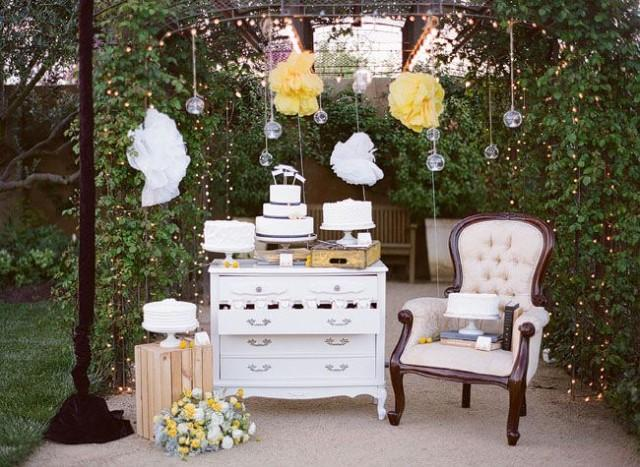 Wedding cakes weddings cake table 2078751 weddbook - Table jardin vintage montpellier ...
