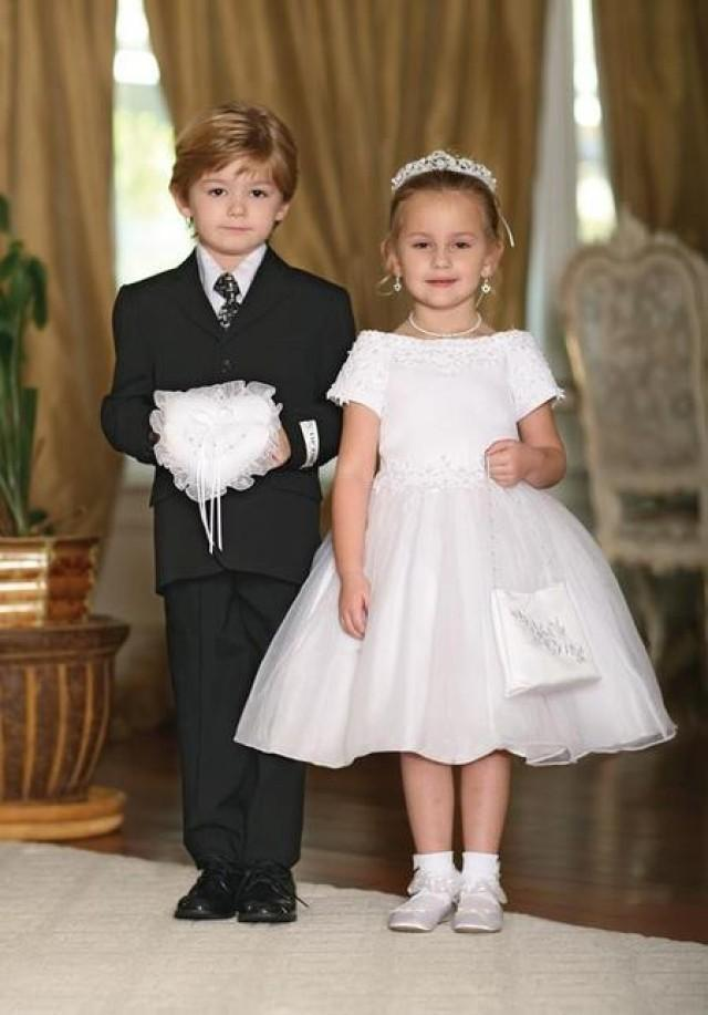 wedding photo - How to Dress Up Flower Girl I