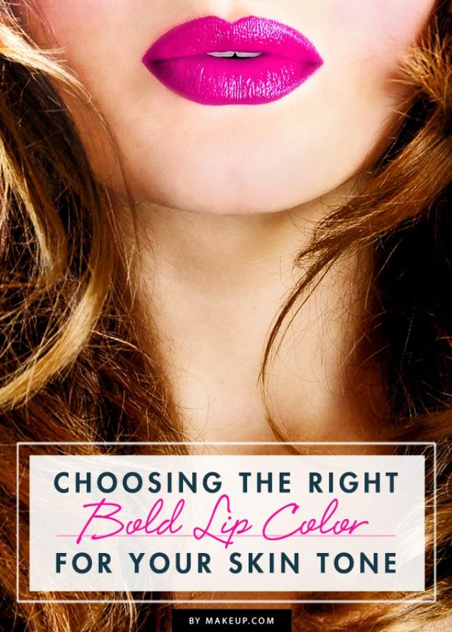 Choosing The Right Bold Lip Color For Your Skin Tone ...