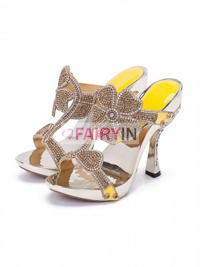 wedding photo - Fairyin Sandals High Heels Shoes