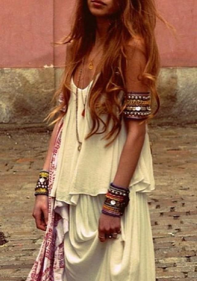 Bohemian wedding boho chic wedding 2080734 weddbook Bohemian fashion style pinterest