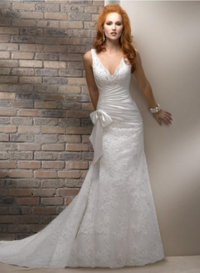 Adorona sells custom made a line sheath wedding dresses online, unique and made to your measurements, % satisfaction guaranteed!