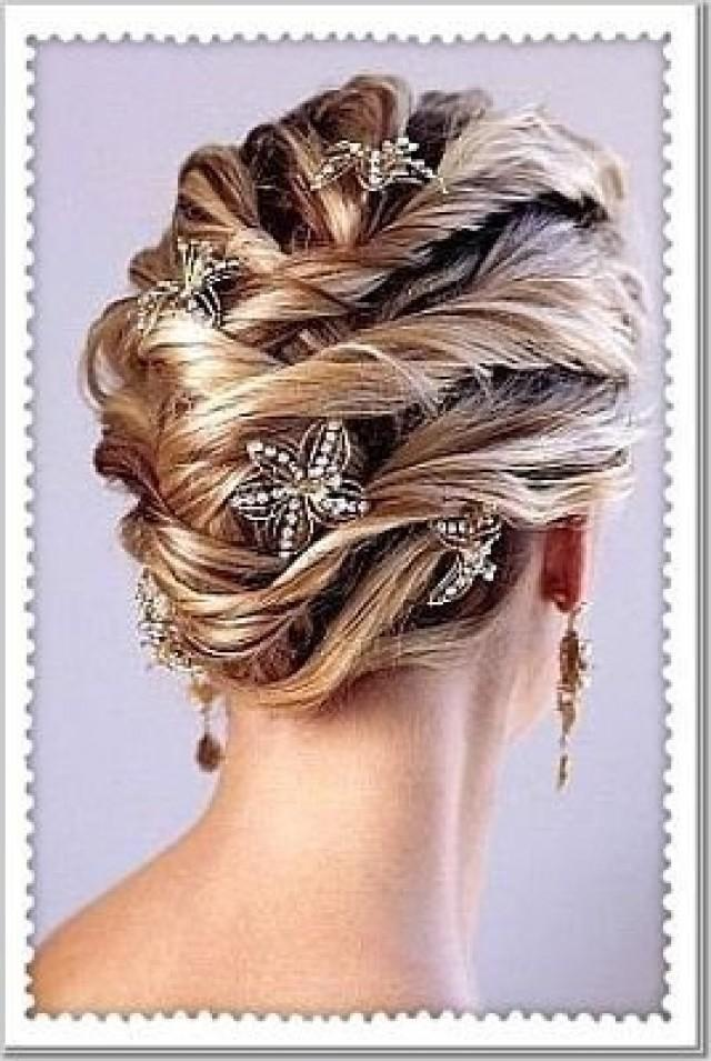 Swell Hair Elegant Wedding Hairstyles 2082368 Weddbook Hairstyles For Men Maxibearus