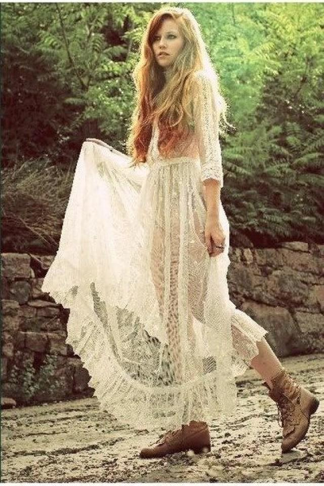 Bohemian Wedding - BoHo Chic Wedding... #2082845 - Weddbook