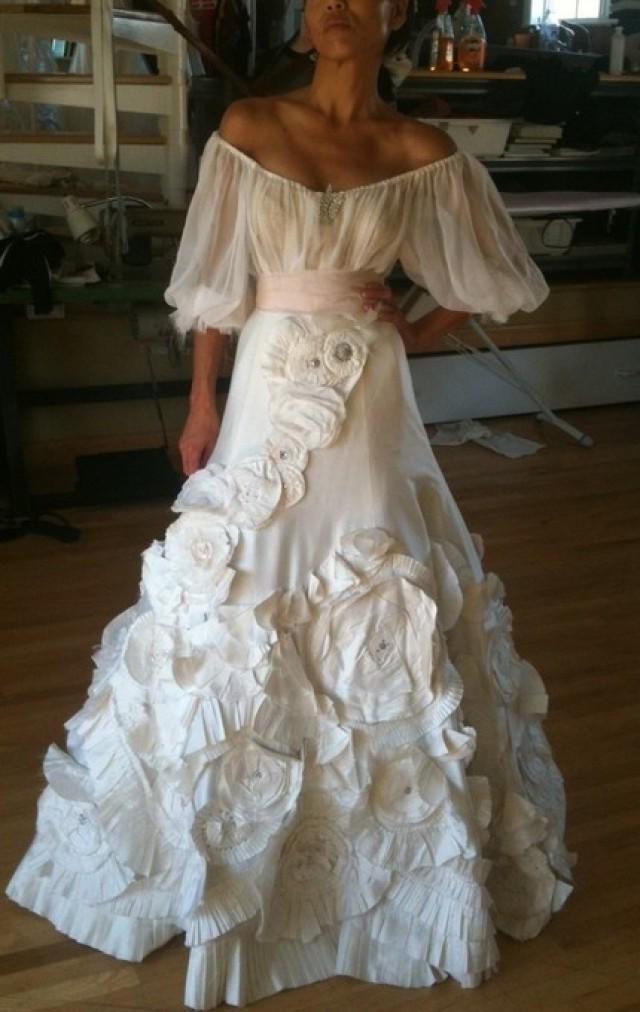 Фото свадебное платье в испанском стиле