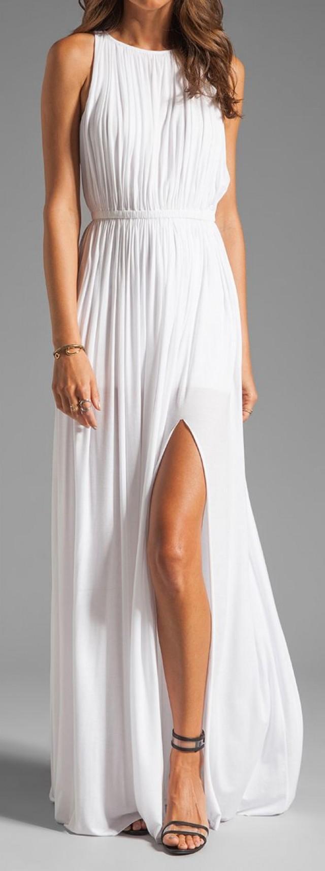 Белое платье на одно плечо как сшить