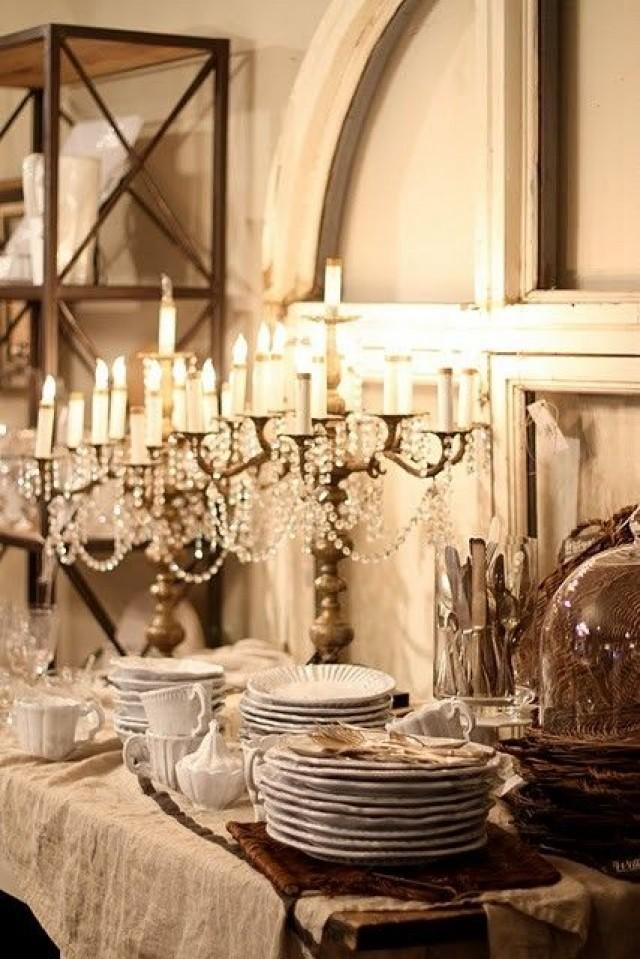 Romantic Wedding Romantic Vintage Table Settings