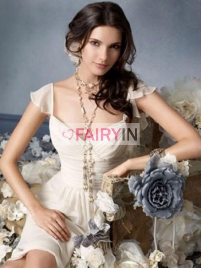 wedding photo - Princess-stil Herz-Ausschnitt Trägerloser Ausschnitt Mini Abalorionstickerei Tülle Cocktailkleider