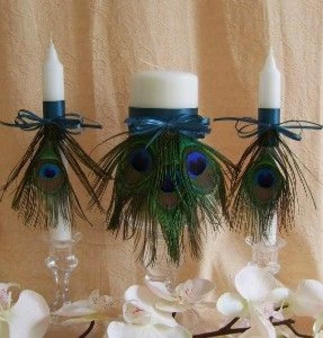 Peacock Wedding Centerpieces Ideas: Weddings-Peacock #2084335