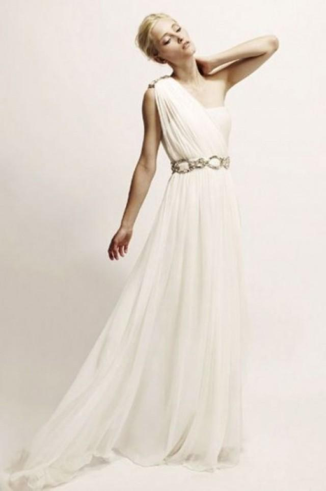 30 gorgeous grecian drapery wedding dresses weddingomania weddbook junglespirit Image collections