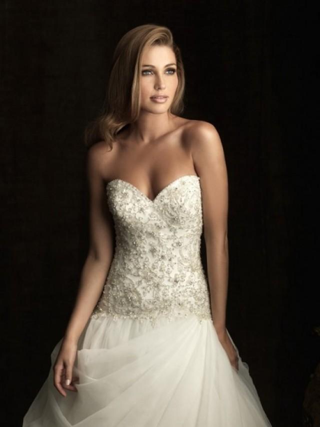 wedding photo - Tulle Sweetheart Applique Sleeveless Pleats Ball Gown Wedding Dress