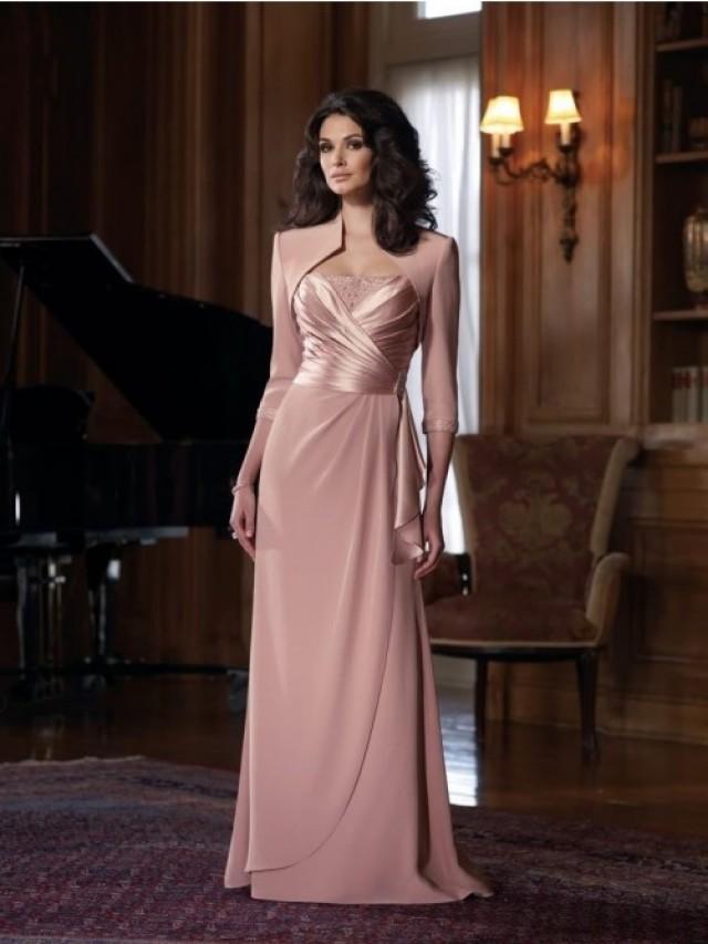 wedding photo - Carré-Ausschnitt A-Linie/Princess-stil rmellos Gefaltet Bodenlang Kleiden