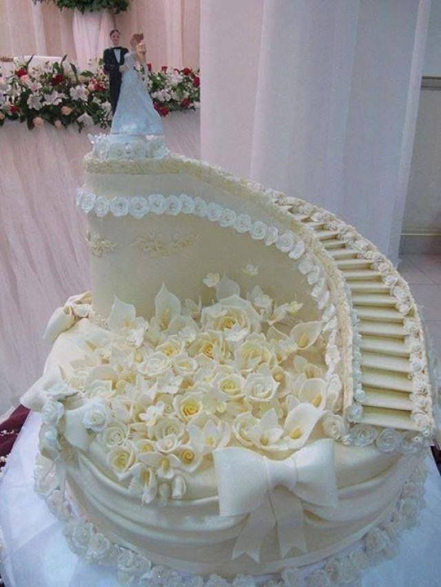 Gâteaux De Mariage - Wedding Cake #2088403 - Weddbook