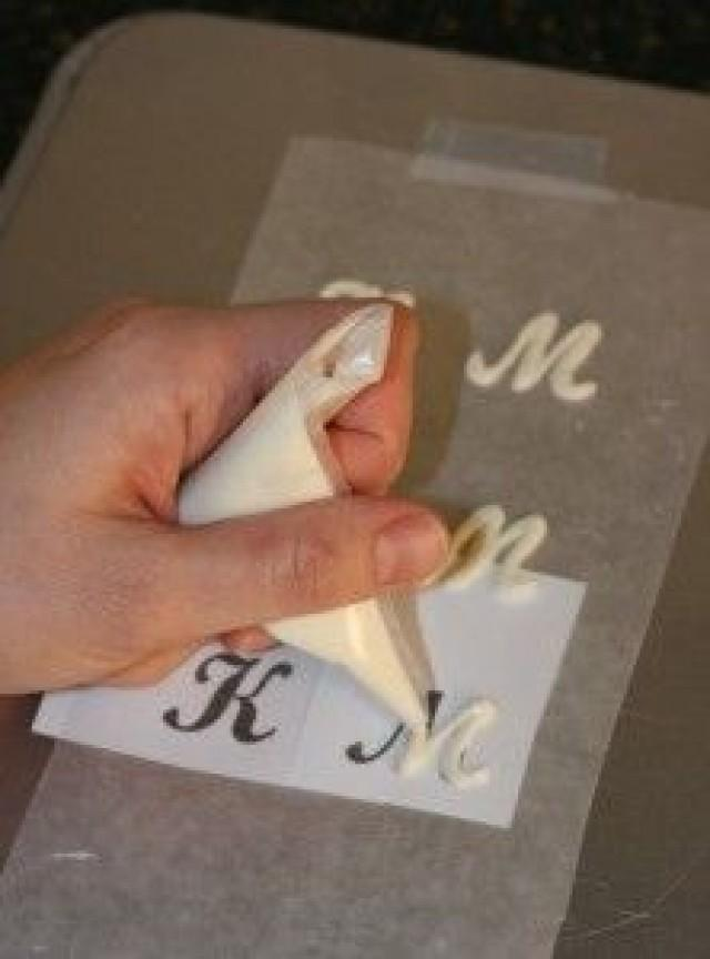 Буквы из шоколада для торта своими руками