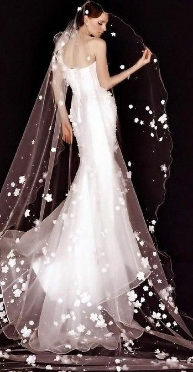 Dress fairytale wedding dresses 2089887 weddbook for Wedding dress with veil