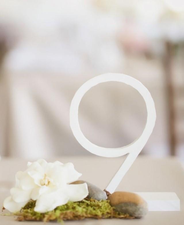 Dekor wedding tabellen zahlen menu 2090252 for Table 9 menu
